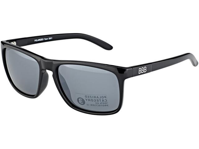 BBB Town PZ PC BSG-56 Sportbrille schwarz glanz/mirror